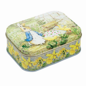 Peter Rabbit - Small Tin