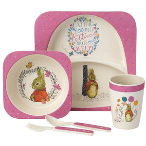 Beatrix Potter - Flopsy Dinner Set