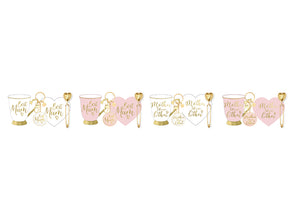 'Best Mum' Ashdene Boxed Mug Set in Pink or White