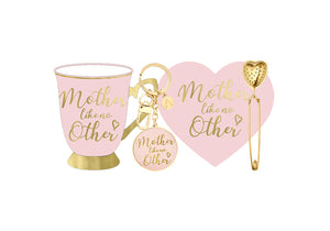 'Mother Like No Other' Ashdene Boxed Mug Set Pink