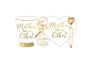 'Mother Like No Other' Ashdene Boxed Mug Set White