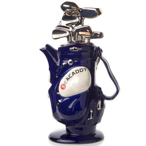 Novelty Teapot - Blue Golf Bag