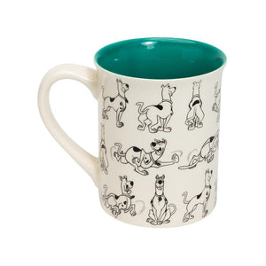 Scooby-Doo - Model Sheet Mug