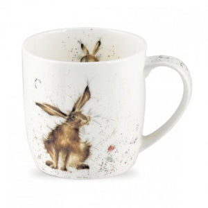 Royal Worcester - Wrendale - 'Good Hare Day' mug