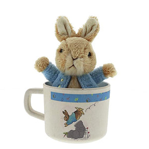 Beatrix Potter - Peter Rabbit Bamboo Mug & Soft Toy Gift Set