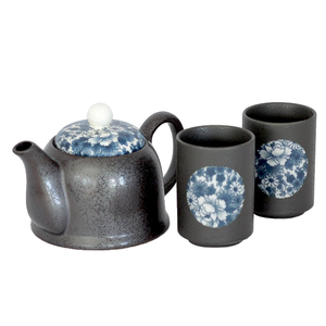 Japanese - Ai Yuzen Tea For Two Set