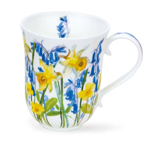 Dunoon - Mug - Cottage Flowers - Yellow