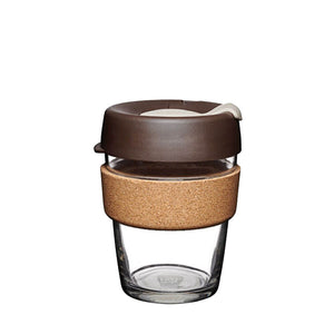 KeepCup - Brew Cork - Almond - 12oz - Red Sparrow Tea Company