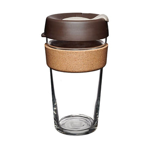 KeepCup - Brew Cork - Almond - 16oz - Red Sparrow Tea Company