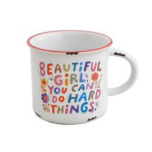 Natural Life - Camp Mug - Beautiful Girl