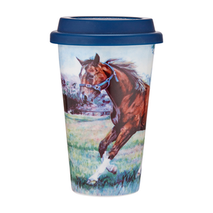 Ashdene - Beauty Of Horses - Cantering Spirit Travel Mug
