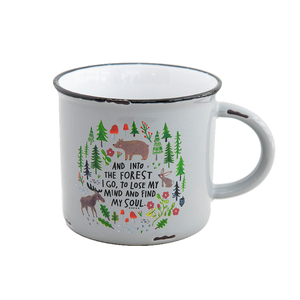 Natural Life - Camp Mug - Into The Forest