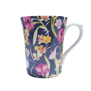 KH - Chintz Swirl Mug - Night Orchid