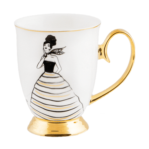 Lucille Mug - Red Sparrow Tea Company