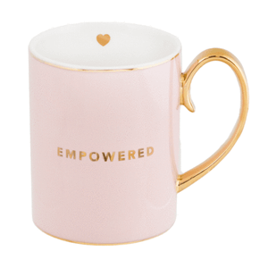 Cristina Re - Mug - Empowered - Red Sparrow Tea Company