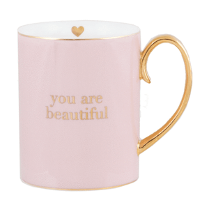 Cristina Re - Mug - You Are Beautiful Mug - Red Sparrow Tea Company