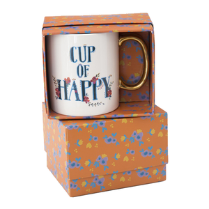 Natural Life - Boxed Mug - Cup of Happy