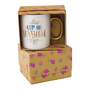 Natural Life - Boxed Mug - Cup Of Sunshine