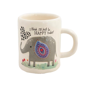 Natural Life - Embossed Mug - Elephant