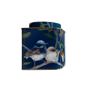 Blue Wren - Small Tea Tin