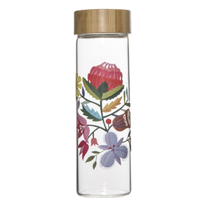 Australiana - Floral Water Bottle