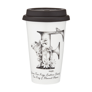 Ashdene - Letters Of Australia - F Travel Mug