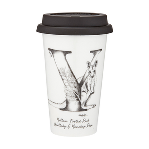 Ashdene - Letters Of Australia - Y Travel Mug