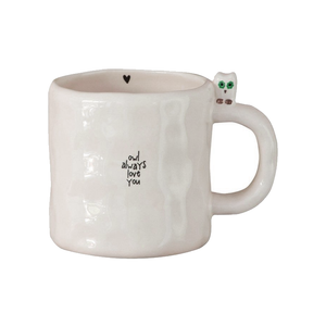 Natural Life - Little Friend Mug ­- Owl