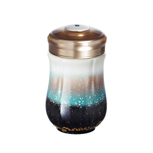 Liven Tourmaline Tumbler - Jixing Happy Flower Fairy - Red Sparrow Tea Company