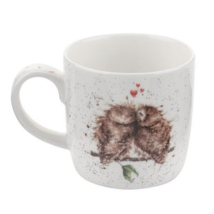 Royal Worcester - Wrendale - 'Birds of a Feather' Owl mug