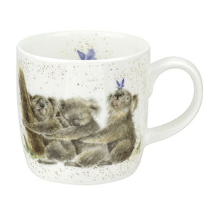 Royal Worcester - Wrendale - Koalas 'Three of a Kind' mug
