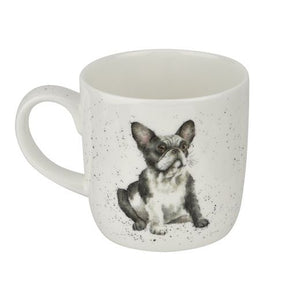 Royal Worcester - Wrendale - 'Frenchie' mug