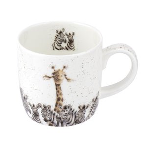 Royal Worcester - Wrendale - 'Head & Shoulders' Giraffe Mug