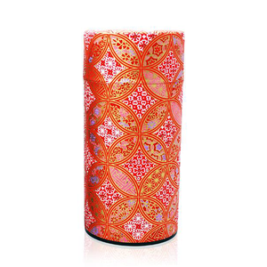 Japanese Tea Canister - Moroccan Mosaic Red - 200g
