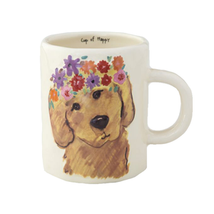 Natural Life - Happy Prairie Mug - Retriever