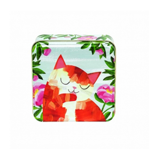 Planet Cats - Ginger Cat Small Tin