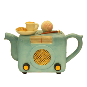 Novelty Teapot - Old Fashioned Radio