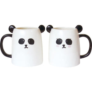 Novelty - Panda Pair Of Mugs