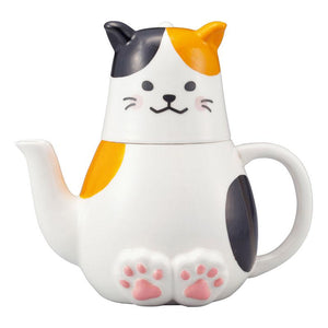 Calico Cat - Tea for One Set