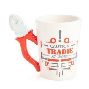 Tradie Mug - Tradie At Work - Pliers