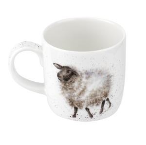 Royal Worcester - Wrendale - 'The Wooly Jumper' Sheep Mug