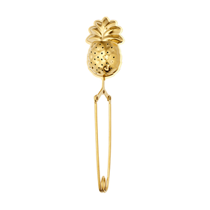 Spring Tea Infuser - Pineapple - Gold