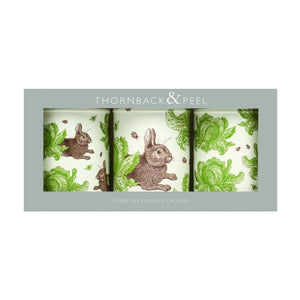 Thornback & Peel - Rabbit & Cabbage Canister Set