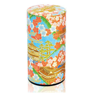 Japanese Tea Canister - Temple Blue - 200g