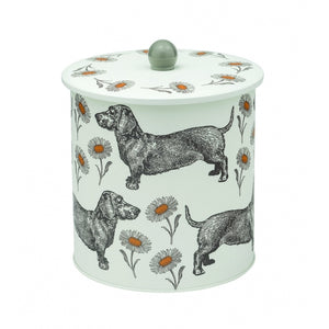 Thornback & Peel - Dog & Daisy Biscuit Tin