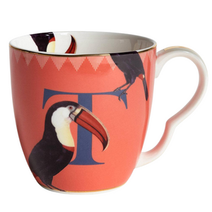 Yvonne Ellen - Alphabet Mug - T for Toucan