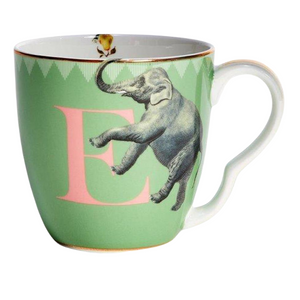 Yvonne Ellen - Alphabet Mug - E for Elephant