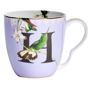 Yvonne Ellen - Alphabet Mug - H for Hummingbird