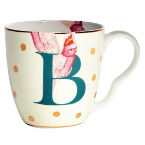 Yvonne Ellen - Alphabet Mug - B for Bird