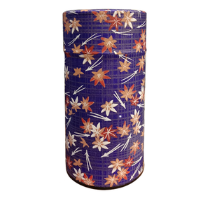 Japanese Tea Canister - Autumn Leaves - 200g